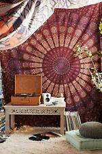 Large Mandala Tapestry Hippie Urban Wall Hanging Indian Cotton Bedding Throw Art