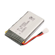 3.7V 1200mAh  Rechargeable Lithium Lipo Battery MX2.0-2P Plug for RC Airplane