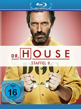 5 Blu-rays * DR. HOUSE - STAFFEL / SEASON 8 | HUGH LAURIE # NEU OVP +