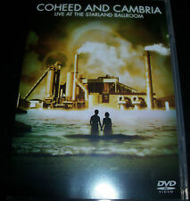 Coheed And Cambria Live At The Starland Ballroom (Aust All Region) CD DVD - New