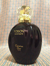 Vintage 1991 Christian Dior Poison FULL 1.7 oz 50 ml Eau de Toilette OLD FORMULA