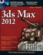 Bible Ser.: 3ds Max 2012 758 by Kelly L. Murdock (2011, Paperback)