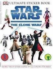 NEW - Ultimate Sticker Book: Star Wars: The Clone Wars by DK Publishing