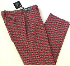 RLX Ralph Lauren $165 NWT 34X30 Oaks Plaid Tartan Billy Horschell Open Golf Pant