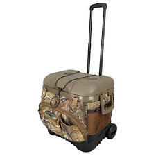 NEW Igloo Realtree Camo 58 Can Rolling Cooler Ice Chest Cool Fusion 40 Qt Roller