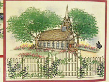 FENCE PANEL U get PHOTO #2 Retired L@@K@ examples ART IMPRESSIONS RUBBER STAMPS