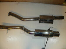 nissan SKYLINE GTST R33  ECR33 COUPE 3 INCH EXHAUST SYSTEM STAINLESS STEEL