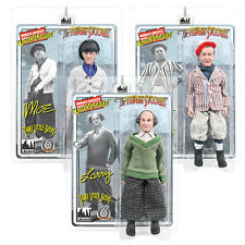 The Three Stooges Mego Style 8 Inch Action Figures: Three Little Beers Set of 3
