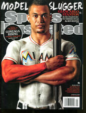 2015 Sports Illustrated No Label Newsstand Giancarlo Stanton 3/2/15 Mint 19920