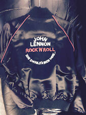 Vintage 1975 JOHN LENNON ROCK N ROLL YOU SHOULDA BEEN THERE JACKET- Small