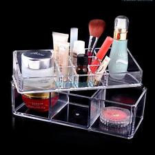 Clear Acrylic Cosmetic Organizer Makeup Case Holder Jewelry Display Storage Box