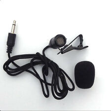 Tie Clip-On Lapel Lavalier Microphone MIC For SmartPhones Recording PC