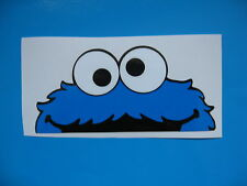COOKIE MONSTER PEEPER car sticker Bombing Decal