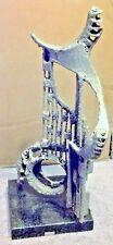 Signed Mark Gero Iron-Tin Sculpture ~Orpheus~ Mid-Century Modern Metal Sculpture