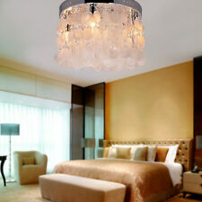 PRO Shell Crystal Flush Mount Chandelier Drop Pendant Ceiling Lighting Fixture
