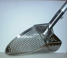 HD PROFESSIONAL STAINLESS STEEL SAND SCOOP +ALUM.LONG HANDLE metal detecting