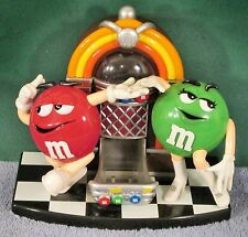 Collectible M&M's Candy Classic Juke Box Candy Dispenser with Dancing M&M's