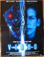 JAMIE LEE CURTIS -  VIRUS  (AFFICHE CINEMA 53x40cm)