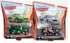 Cars 2: nuevo 1:55 Max rápidamente & Nigel gearsley 2x rare World Grand Prix coches de carreras