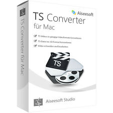 TS Video Converter MAC Aiseesoft dt.Vollversion -lebenslange Lizenz Download