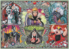 Disney villains 14 count cross stitch kit