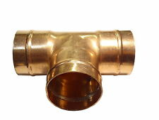 54mm Solder Ring Tee | Capillary Plumbing Fitting For Copper Pipe