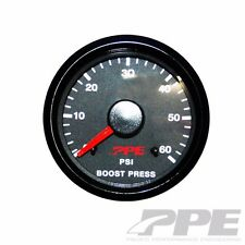PPE Turbo Boost Pressure Gauge Chevy GMC Fits Dodge # 516010000