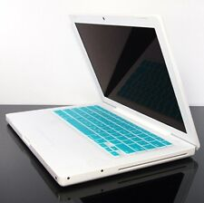 AQUA BLUE Silicone  Skin Cover for OLD Macbook 13 A1181