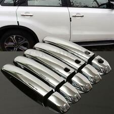 10pcs Car Door Handle Cover Caps ABS Chrome For 2006- 15 Suzuki Grand Vitara