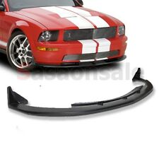 05-09 FORD MUSTANG V8 ONLY Coupe CV3 Style Front Bumper Chin Lip Spoiler