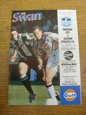 21/09/1993 V Oldham Athletic [Swansea City Football League Cup]. artículo aparece T