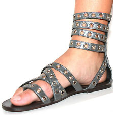 TIGERLILY The Troy Leather Gladiator Sandals, Size 8 Euro 39. NWT, RRP $129.95