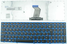 LENOVO Z570 B570 B570A B570G B575 V570 V570C KEYBOARD UK LAYOUT BLUE FRAME F26