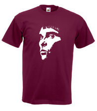Stone Roses Ian Brown  Face Tee Shirt  - 10 Colours - Brand New - All Sizes