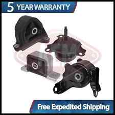 Transmission Motor Mounts Front Right Rear Set Kit 2.0 L For Acura RSX
