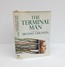 The Terminal Man-Michael Crichton-SIGNED!!-First/1st Edition/3rd Printing-1972!!