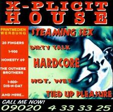 X-Plicit House by Various Artists (CD, ZYX Music)