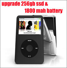 1800mAh & 240 GB /256 GB upgrade Thin iPod Classic 7th Gen 160 GB (Latest Model)
