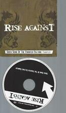 CD-RISE AGAINST SIREN SONG OF THE COUNTER CULTURE  // PROMO