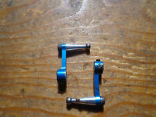 COMPASS KNIGHT 3D BLUE ALLOY FLYBAR CONTROL ARMS