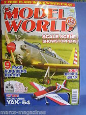 RCMW RC MODEL WORLD APRIL 2009 PINGWIN BARAKA EPP DELTA PLAN P51D MUSTANG