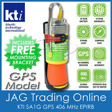 KTI SA1G +GPS SAFETY ALERT 406MHz EPIRB Boat/Marine Emergency Distress Beacon