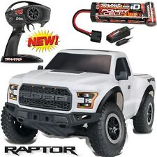 Traxxas 58094-1 Slash 2WD 2017 Ford F-150 Raptor RTR Truck w Radio & Battery Whi