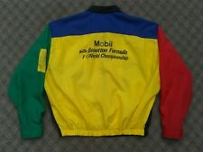 VTG UNITED COLORS OF BENETTON MOBIL F1 FORMULA ONE WORLD CHAMPIONSHIP JACKET
