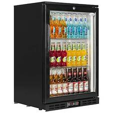 PD10H NEW SINGLE DOOR BACK BAR BEER WINE COOLER BOTTLE FRIDGE & FREE DELIVERY