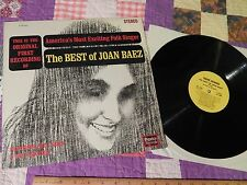 The Best of Joan Baez (VINYL_RECORD) OG 1st Recording (Squire Records) US FOLK