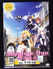 *NEW* ABSOLUTE DUO *13 EPISODES*ANIME DVD*ENGLISH SUBS*FREE SHIPPING*FREE SHIP!*