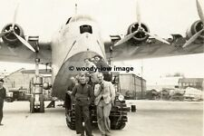 rp01912 - Flying Boat Caledonia at Hythe - photo 6x4