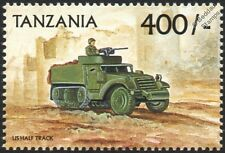 WWII M3 HALF-TRACK Personnel Carrier Tank Vehicle Stamp