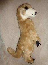 Meerkat Standing 1989 Determined  VTG stuffed plush realistic #5813 Felt Claws